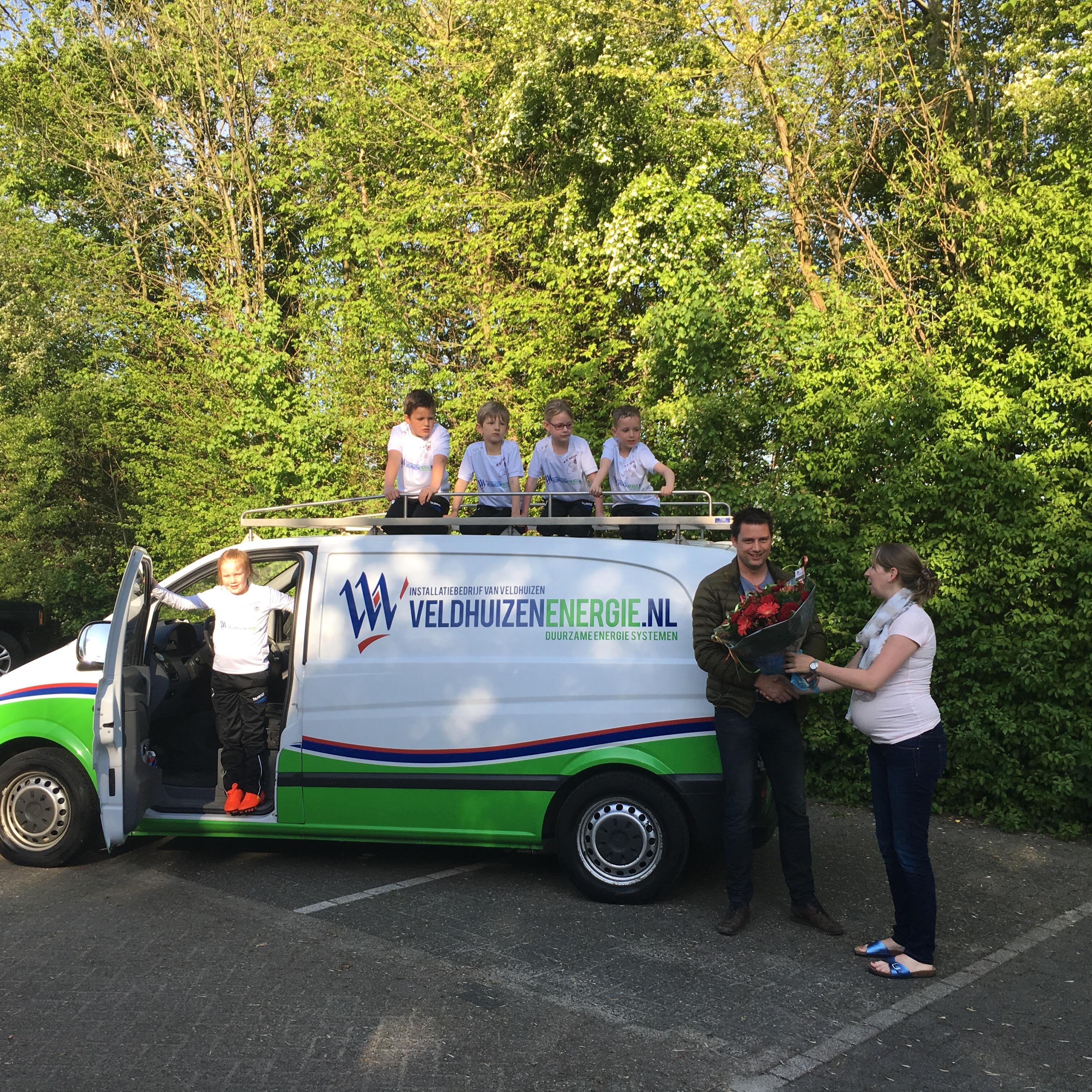 Veldhuizen energie sponsort Revival F1