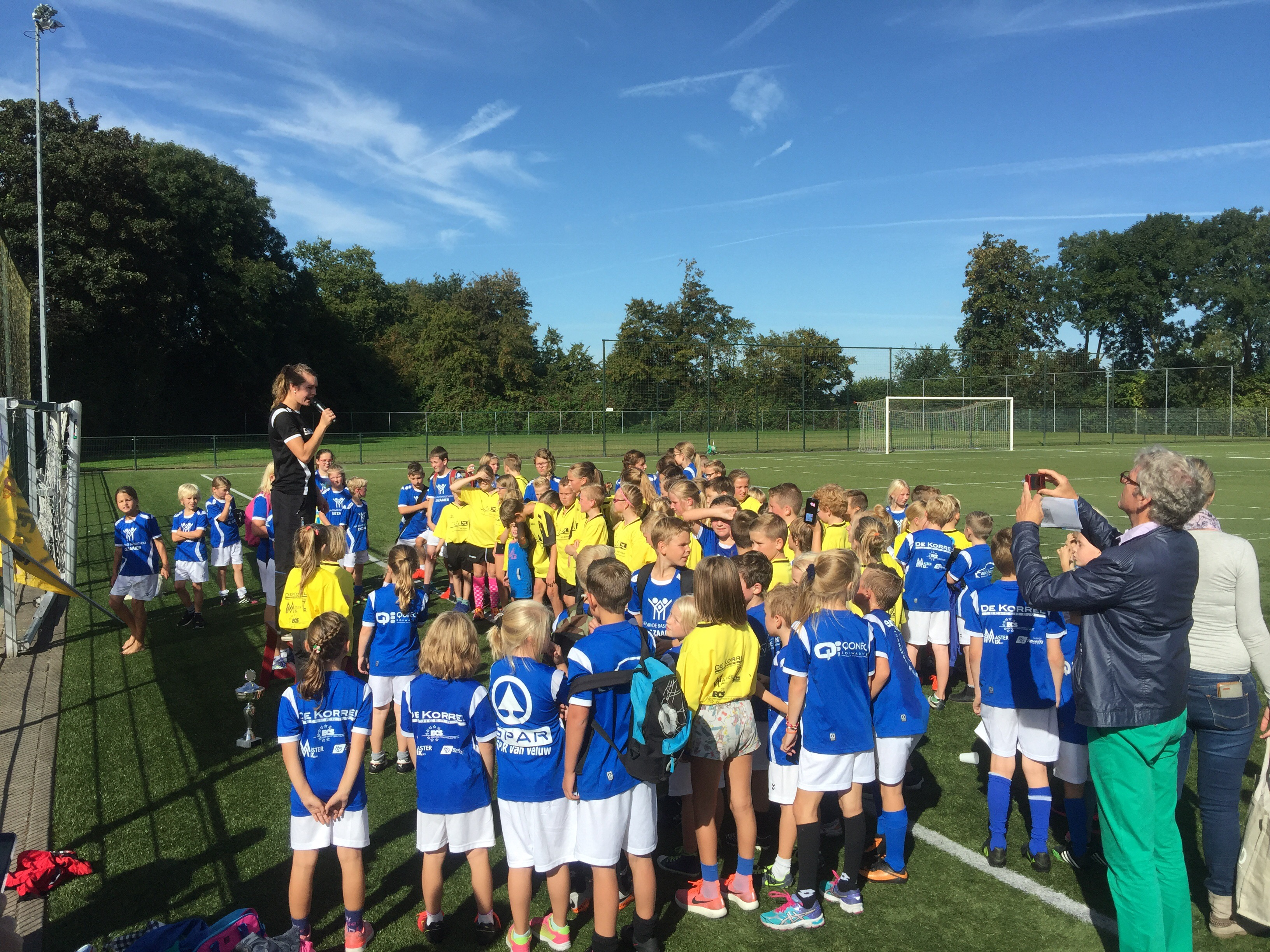 Schoolkorfbal 2017, woensdag 27 september