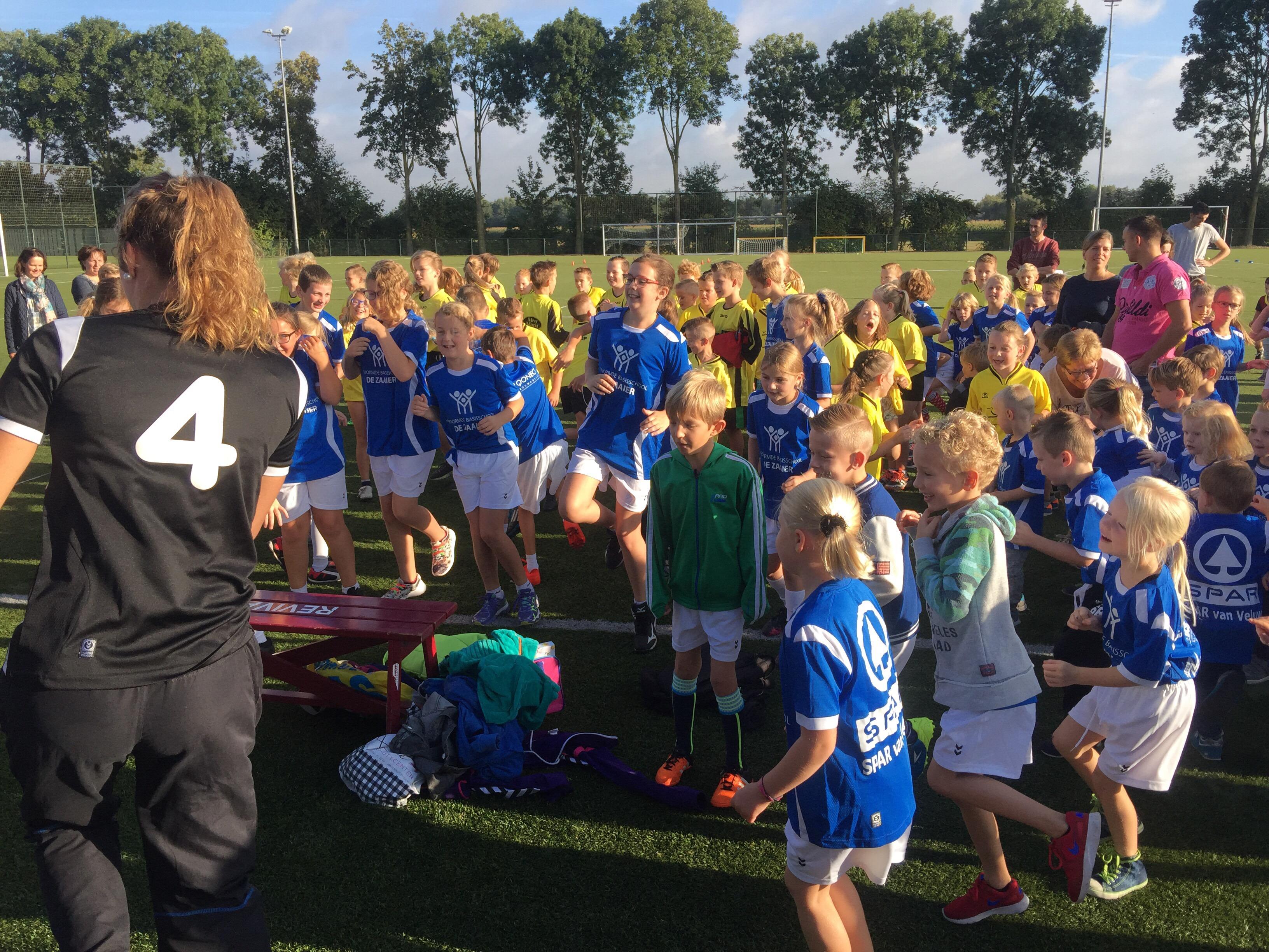 Rabobank schoolkorfbal toernooi is gestart!