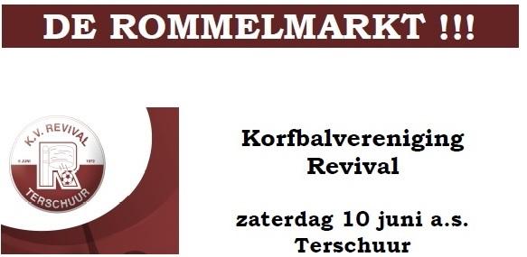 Rommelmarkt 10 juni