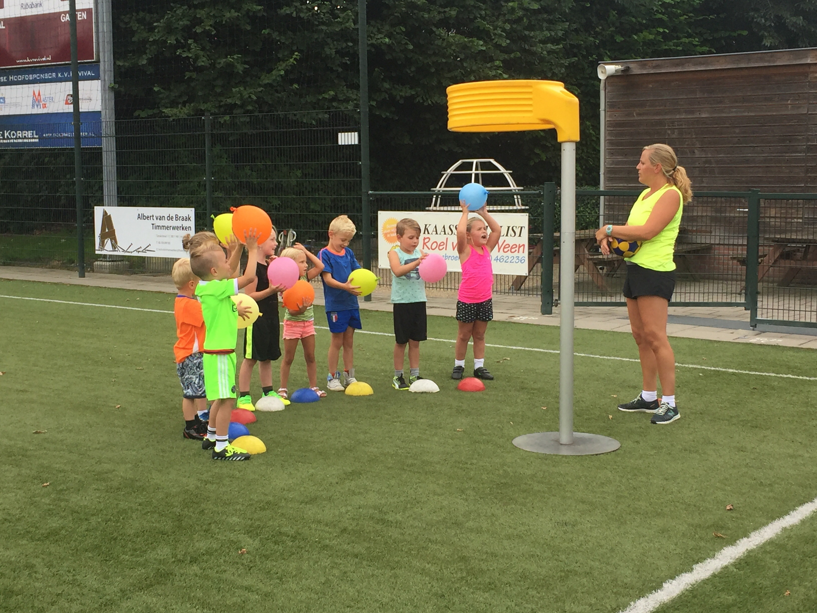 Eerste mini-training aan de gang!