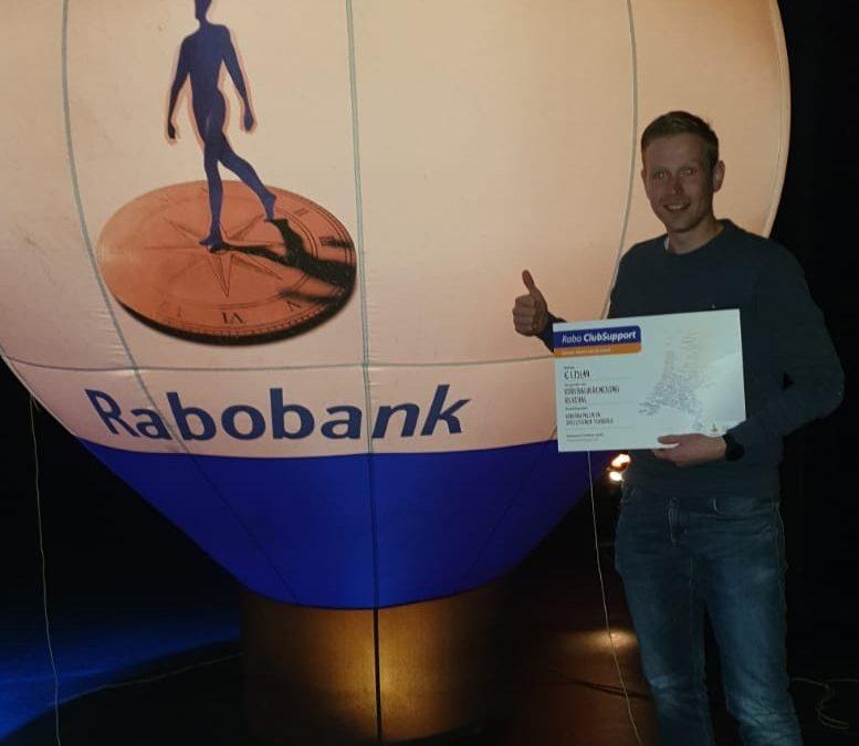 Rabobank en leden superbedankt!