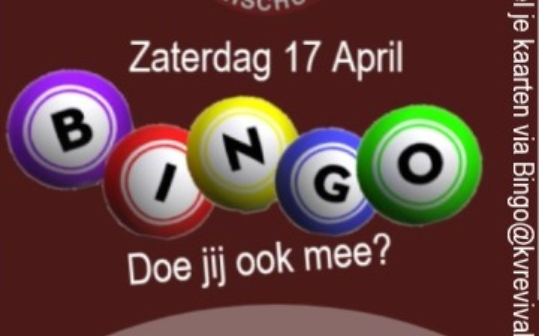 Online Bingo 17 april